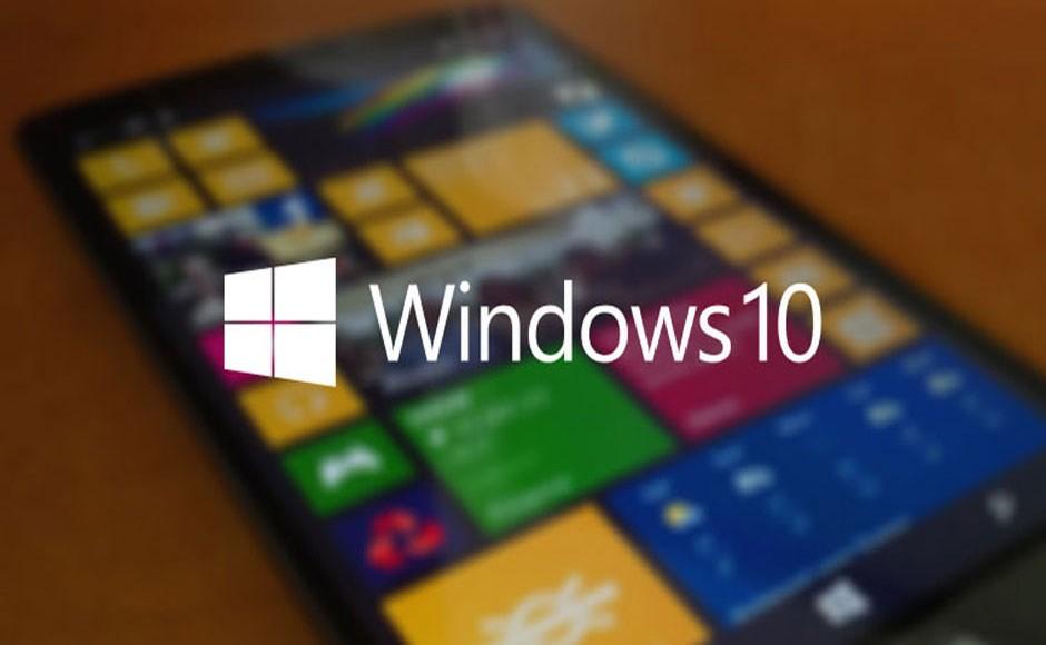 Логотип новой os windows 10 phones