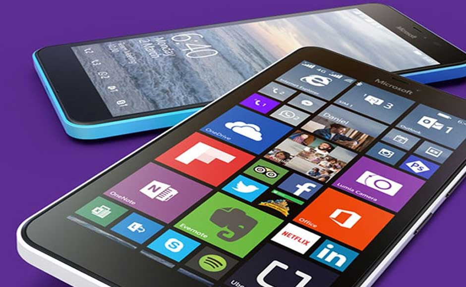 windows 10 phones на устройствах microsoft