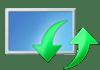 Логотип обновления