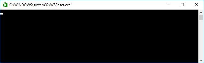 Очистка кэша Windows Store