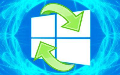 Обозначение сброса Windows