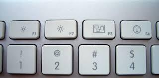Клавиши F1—F2
