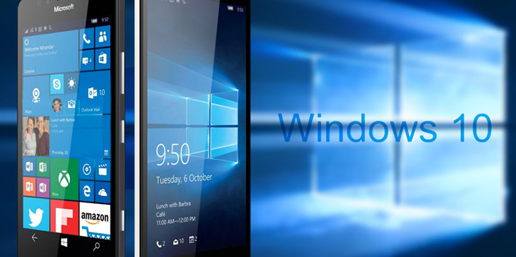 Линейка смартфонов на Windows 10