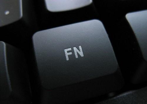 Кнопка FN расположенная на клавиатуре