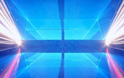 Высокая скорость Windows 10