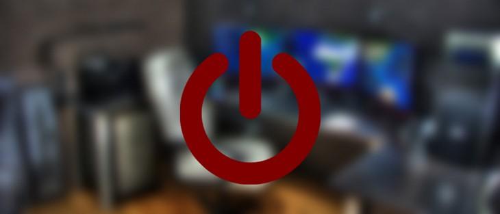 Обозначение выключения компьютера