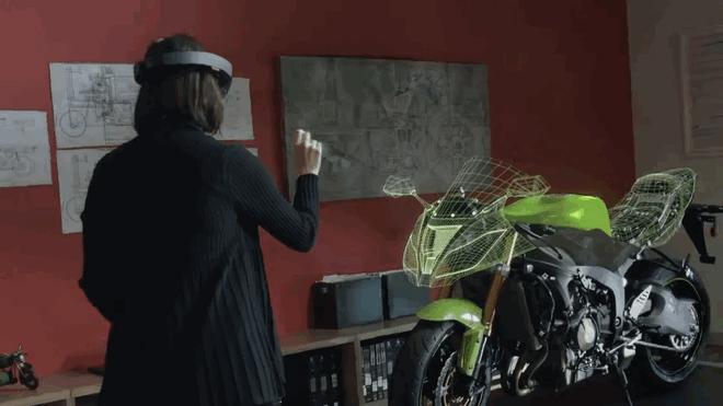 Работа с объектом при помощи виртуальной реальности