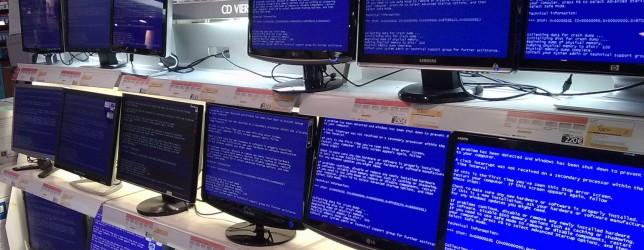 Решение проблемы синего экрана