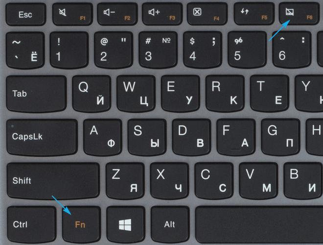 Комбинация кнопок в Lenovo