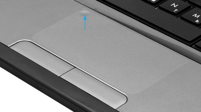 Тачпад ноутбука HP