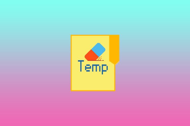 Очистка папки temp
